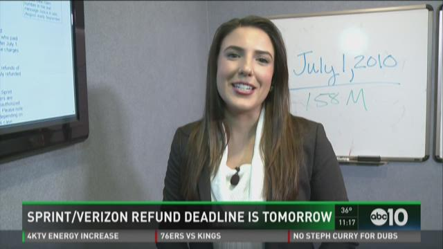 Sprint and Verizon customers approach deadline for filing settlement claims.