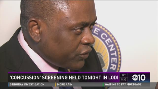 'Concussion' screening held in Lodi with doctor who inspired film