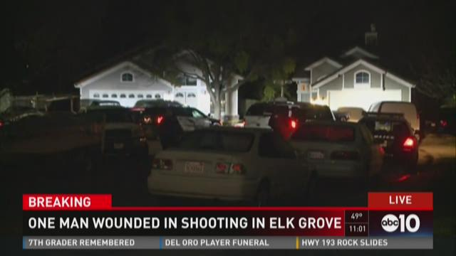 Elk Grove Police Looking For Suspect Who Shot Man In Neck