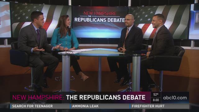 New Hampshire Republican post-debate analysis