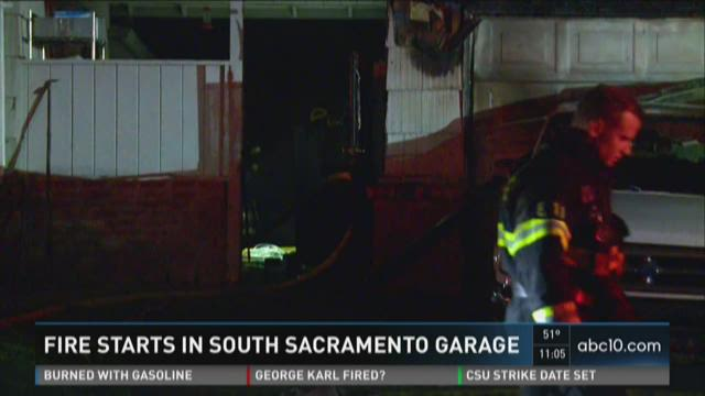 Fire starts in south Sacramento