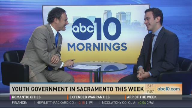 Youth Government in Sacramento this week