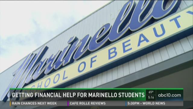 How Marinello students can get financial help