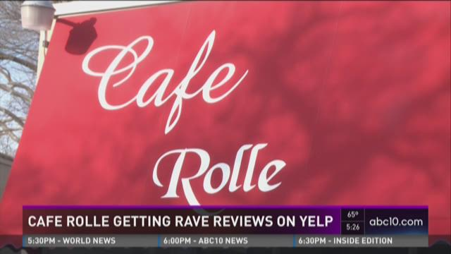 Cafe Rolle gets rave reviews on Yelp