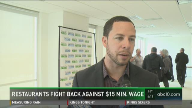 Restaurants fight back against $15 minimum wage