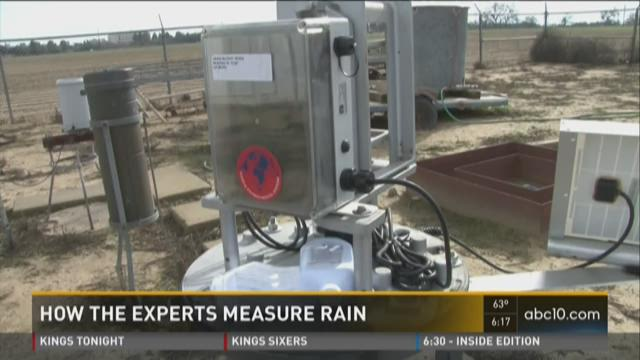 How experts measure rain