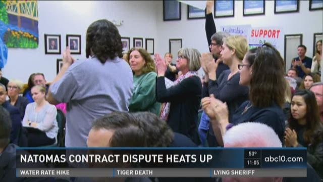 Natomas contract dispute heats up