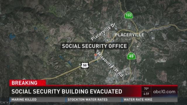 Social security building evacuated