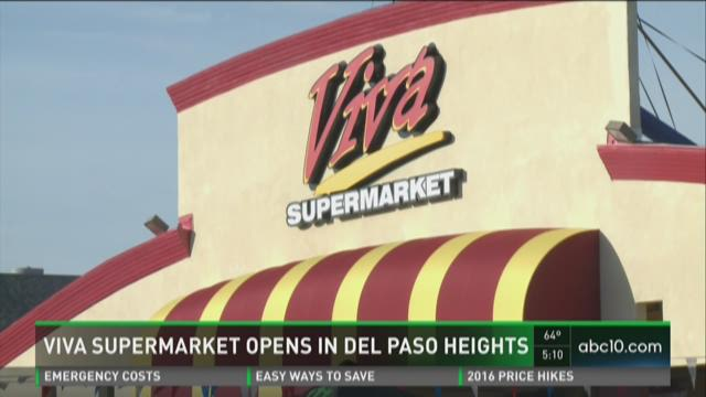 Viva Supermarket opens in Del Paso Heights