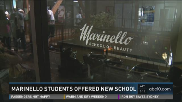 Marinello students offered new school