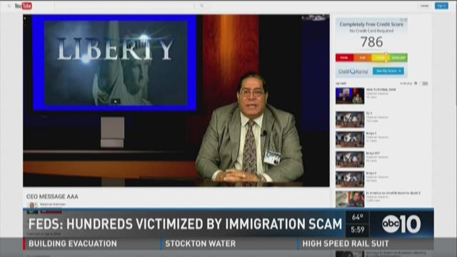 Feds: Hundreds victimized by immigration scam