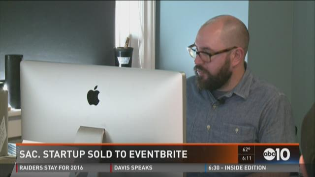 Sac. Startup sold to Eventbrite