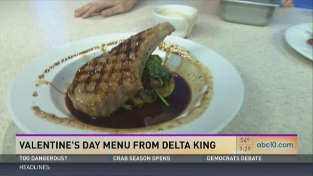 Delta King's Valentine's Day meal