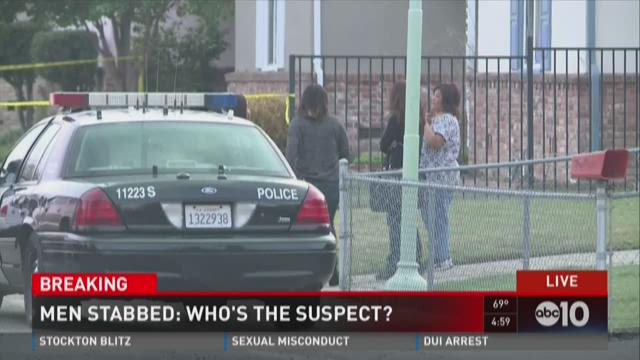 Men stabbed: Who's the suspect?