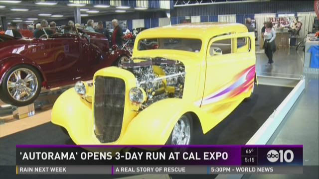 Autorama opens 3-day run at Cal Expo