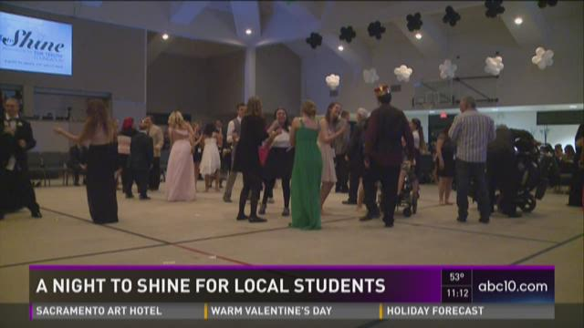 A night to shine for local students