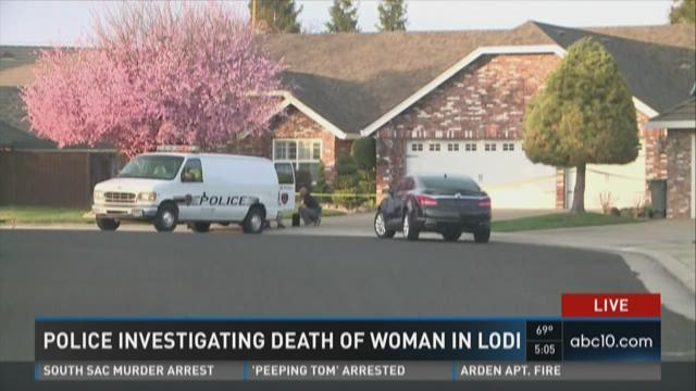 Police investigating death of a woman in Lodi