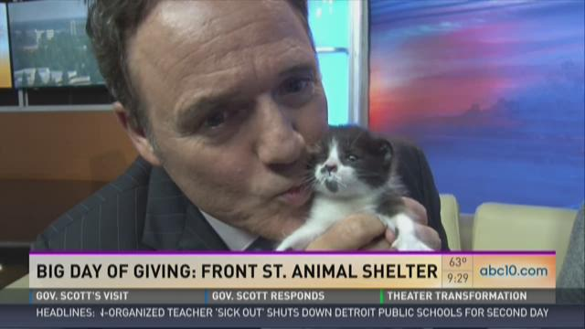 Big Day of Giving: Helping the Front Street Animal Shelter