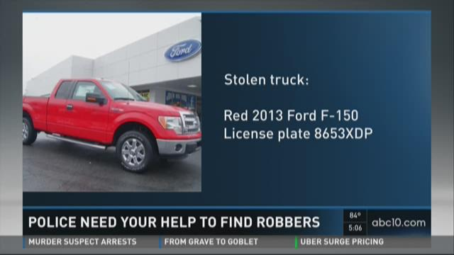 Police need your help to find robber