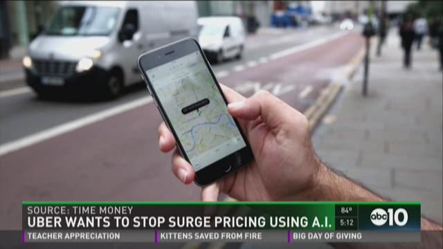 Uber wants to stop surge pricing using A.I.