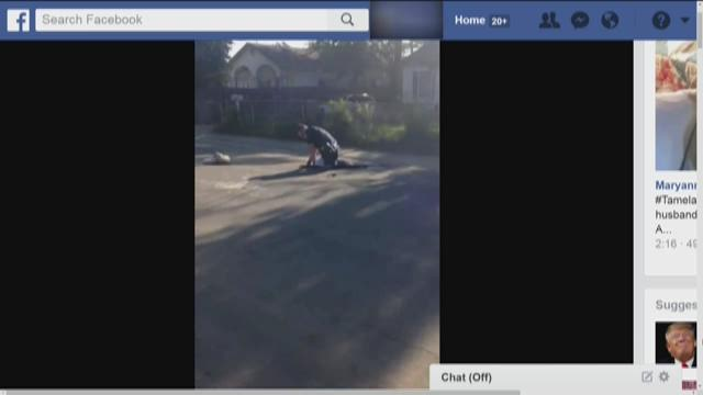 Sacramento police release video of incident involving officer and suspect