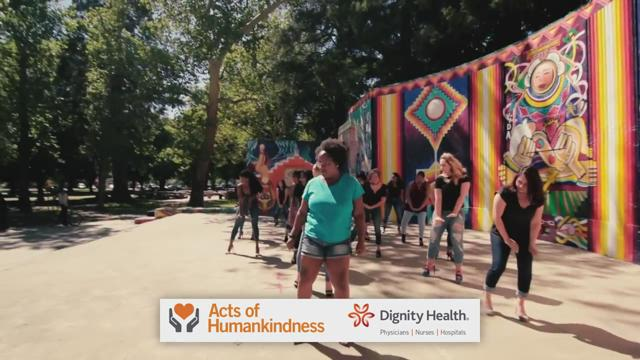 Acts of Humankindness: Venetia James - Hundreds Unit Dance Group