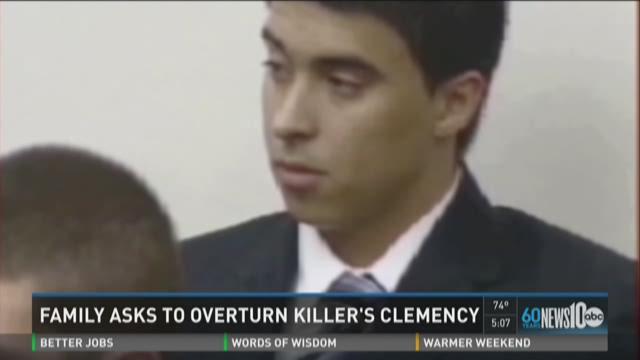 Family seeks to overturn killer's clemency