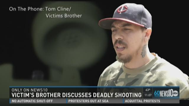 Victim's brother discusses deadly shooting