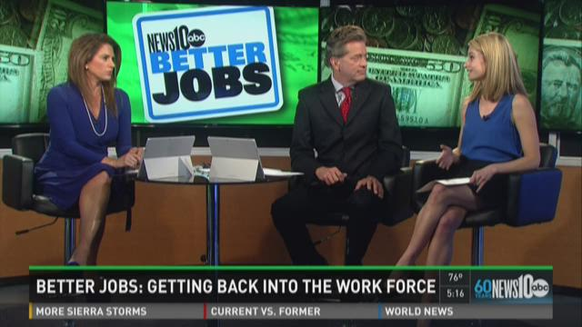 Better Jobs: Getting back into the work force