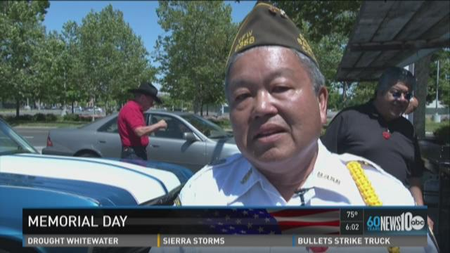 Veterans honored in Sacramento area