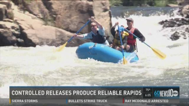 Controlled release produce reliable rapids