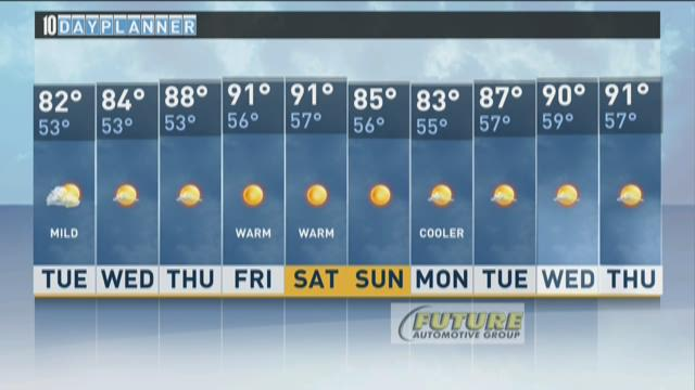 Sacramento AM weather: May 26, 2015