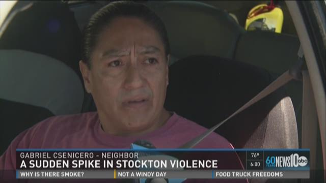 Spike in violence on Memorial Day in Stockton