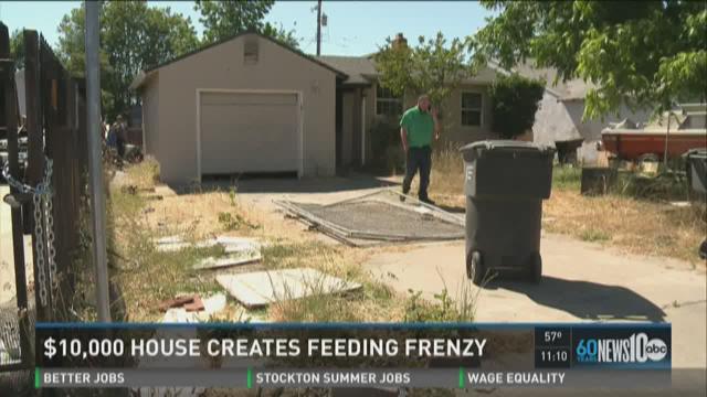 $10,000 Sacramento house creates investor frenzy