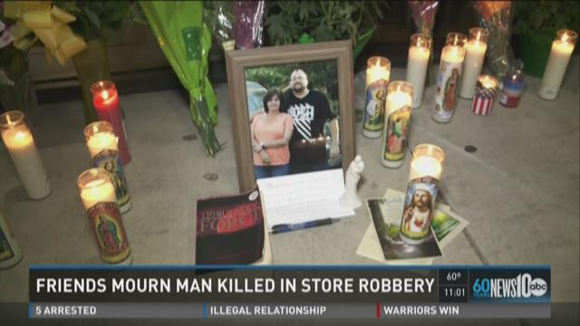 Friends, family remember man killed in Subway robbery