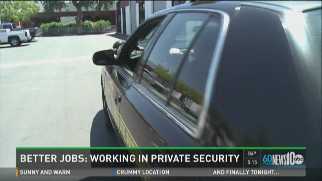Better Jobs: Working in private security