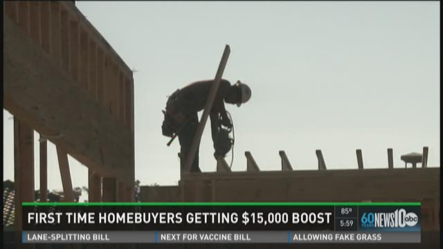 First-time homebuyers get boost