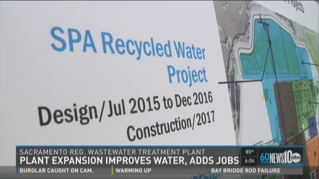 Sacramento water plant improves water, adds jobs