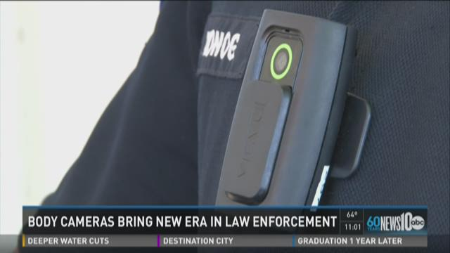 Body cameras bring new era in law enforcement