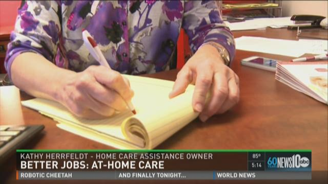 Better Jobs: At-home care