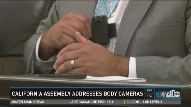 California legislators discuss police body cameras