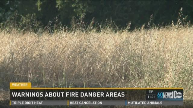 Overgrown, vacant lots pose fire danger