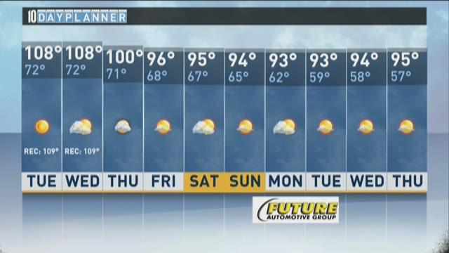 Local A.M. forecast: June 30, 2015