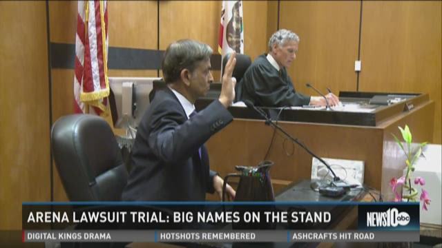 Ranadive, Johnson on stand during arena trial