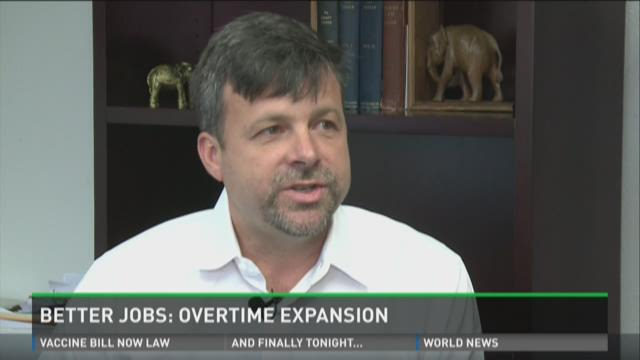 Better Jobs: Overtime expansion