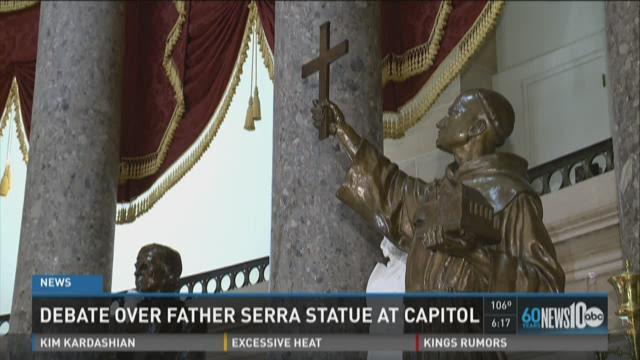 Committee debate Serra, Ride statue in state Capitol