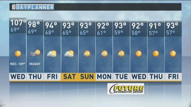 Local A.M. forecast: July 1, 215