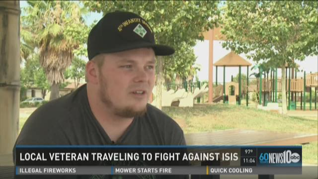 Local veteran traveling to fight ISIS