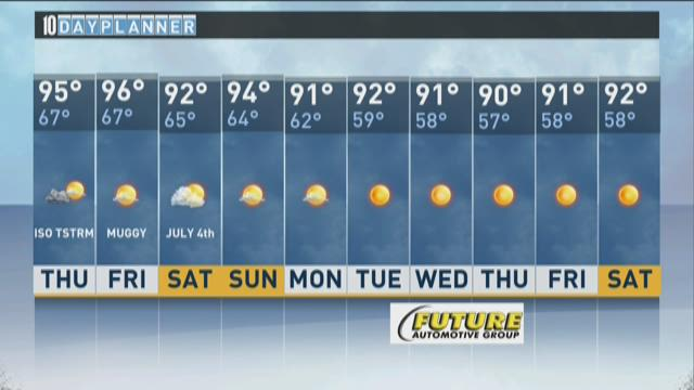 Local A.M. forecast: July 2, 2015
