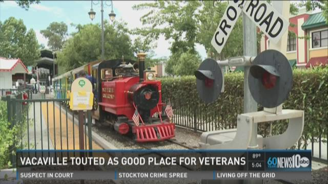 Vacaville touted as good place for veterans